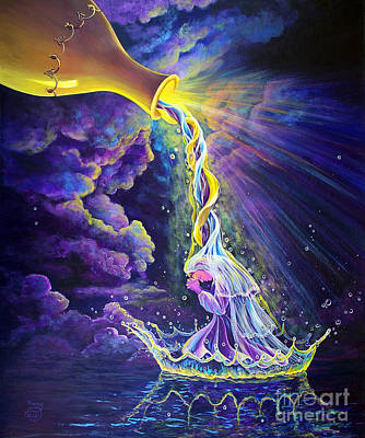 Prophetic Art Wall Art - Painting - Get Ready by Nancy Cupp