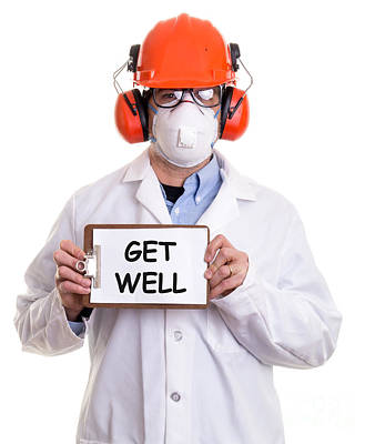 Get Well Art Print by Edward Fielding