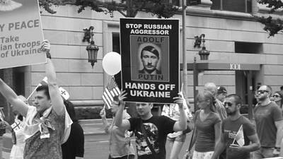 Photograph - Get Your Hands Off Ukraine by Paulo Guimaraes