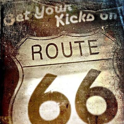 Photograph - Get Your Kicks On Route 66 by Kathleen Messmer