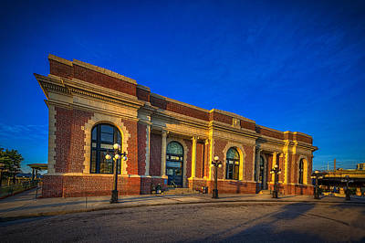 Brick Building Photograph - Get Your Ticket by Marvin Spates