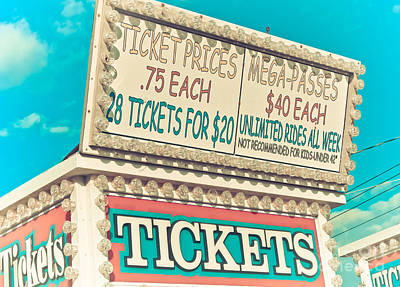 Get Your Tickets Art Print by Colleen Kammerer