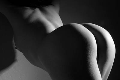 Nude Photograph - Getting A Little Behind In My Work by Joe Kozlowski