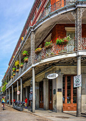 French Quarter Photograph - Getting Around The French Quarter by Steve Harrington