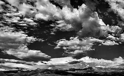 Photograph - Getting Lost In A Mountain Sky by Leland D Howard