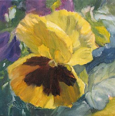 Painting - Getting To Know You by Lori Quarton