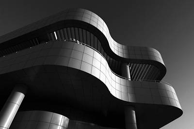 Getty Center Art Print by Yue Wang