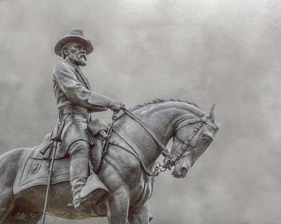 Gettysburg Battlefield General Statue Art Print