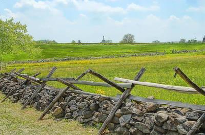 Photograph - Gettysburg Battleground by Dyle   Warren