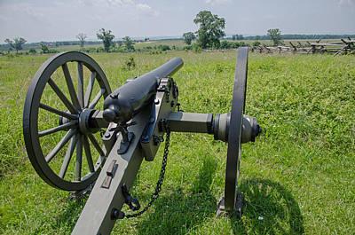 Photograph - Gettysburg Cannon 2  by Susan McMenamin