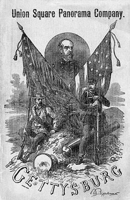 Gettysburg Cyclorama, C1885 Art Print by Granger