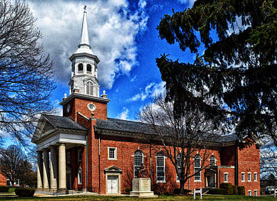 Photograph - Gettysburg Lutheran Seminary Chapel by Bill Swartwout