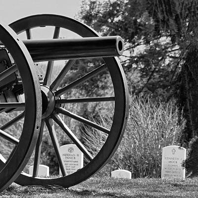 Photograph - Gettysburg National Cemetery by Digital Photographic Arts