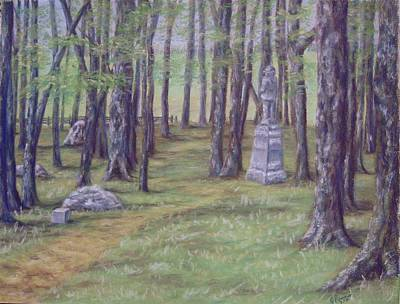 Pastel - Gettysburg Pathway by Joann Renner