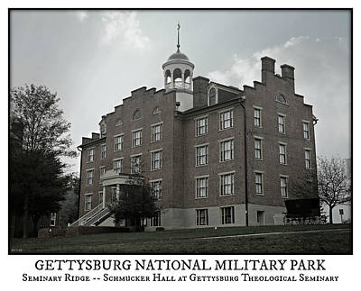 Civil War Battle Site Photograph - Gettysburg Seminary Ridge Poster by Stephen Stookey