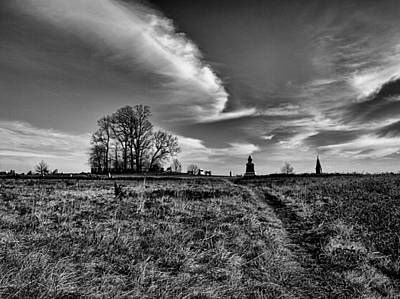Photograph - Gettysburg Sky by Joshua House