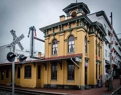 Photograph - Gettysburg Train Station by Guy Whiteley