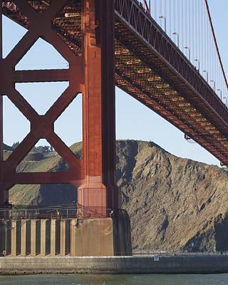 Photograph - GGB by Stuart Hicks