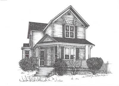 Gh Home Art Print by Barbara Carlson
