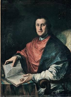 Ghedini Giuseppe Antonio, Portrait Art Print by Everett