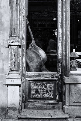 Ghent Cello Art Print by Lauri Novak