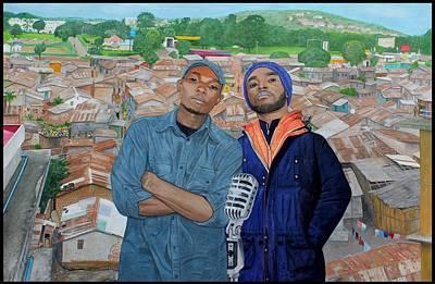 Ghetto Voice Print by Daniel Kisekka