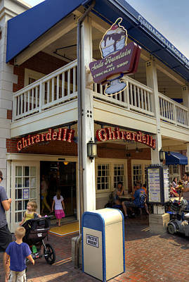 Photograph - Ghirardelli by Ricky Barnard