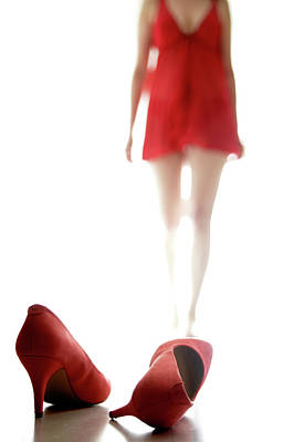 Red Dress Wall Art - Photograph - Ghost #2 by Williama