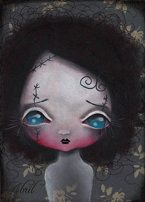 Painting - Ghost by  Abril Andrade Griffith