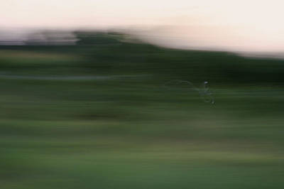 Photograph - Ghost Flight - Motion Art Print by Jane Eleanor Nicholas