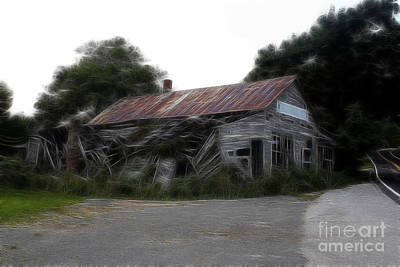 Photograph - Ghost Hotel by Doc Braham