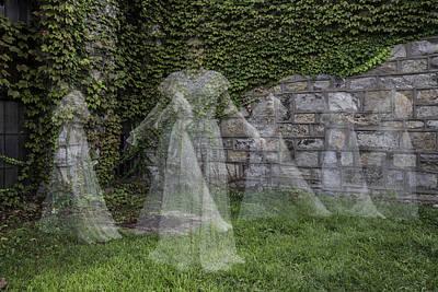 Ghost In The Garden Art Print