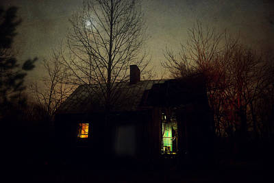 Photograph - Ghost In The Parlor by Emily Stauring