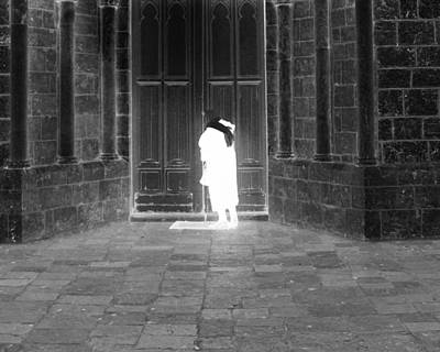 Photograph - Ghost- Knocking On The Door by Munir Alawi