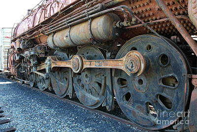 Ghost Locomotives Of The Sacramento Southern Railroad 5d25490 Art Print