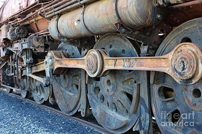 Ghost Locomotives Of The Sacramento Southern Railroad 5d25491 Art Print