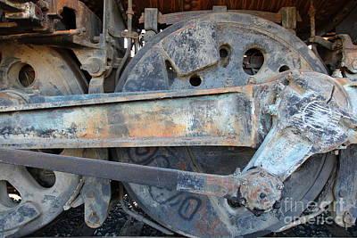 Ghost Locomotives Of The Sacramento Southern Railroad 5d25494 Art Print