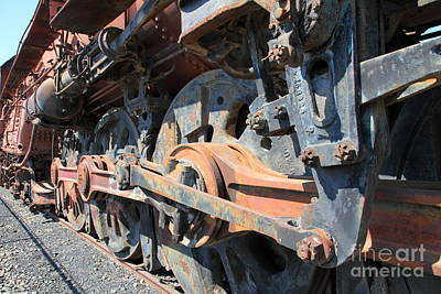 Old Sac Photograph - Ghost Locomotives Of The Sacramento Southern Railroad 5d25506 by Wingsdomain Art and Photography