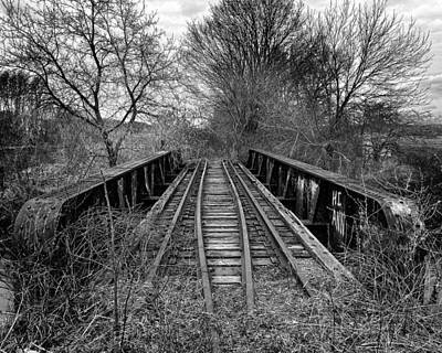 Photograph - Ghost Of A Steel Trestle by Chris Bordeleau