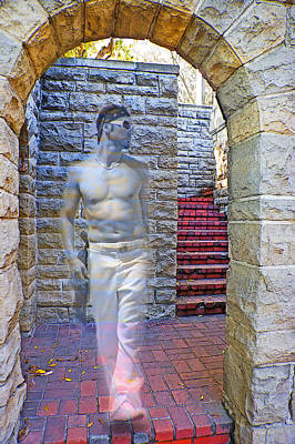 Photograph - Ghost Of Greystone Mansion by Chuck Staley
