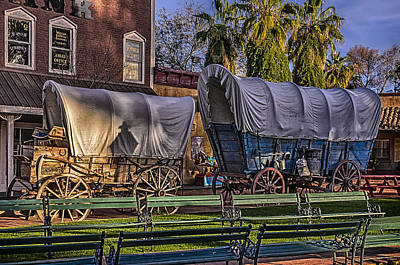 Mark Myhaver Rights Managed Images - Ghost of Old West No.1 Royalty-Free Image by Mark Myhaver