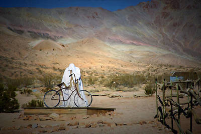 Gold Mining Photograph - Ghost Of Rhyolite by Donna Kennedy