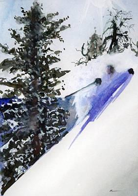 Ghost Of Tahoe Past Art Print by Ed  Heaton