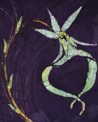 Ghost On Purple Art Print