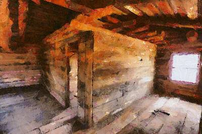 Digital Art - Ghost Ranch  by Carrie OBrien Sibley