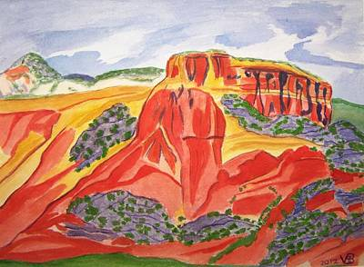 Painting - Ghost Ranch New Mexico by Vera  Smith
