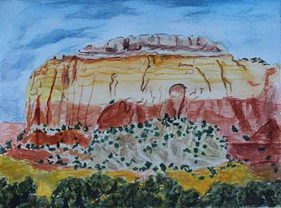 Painting - Ghost Ranch by Vera  Smith