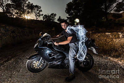 Photograph - Ghost Rider by Eugenio Moya