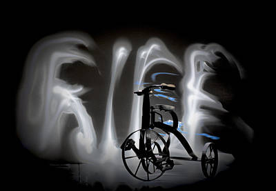 Digital Art - Ghost Rider by Susan Stone