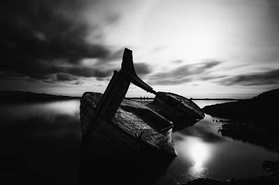 Photograph - Ghost Ship by Frodi Brinks